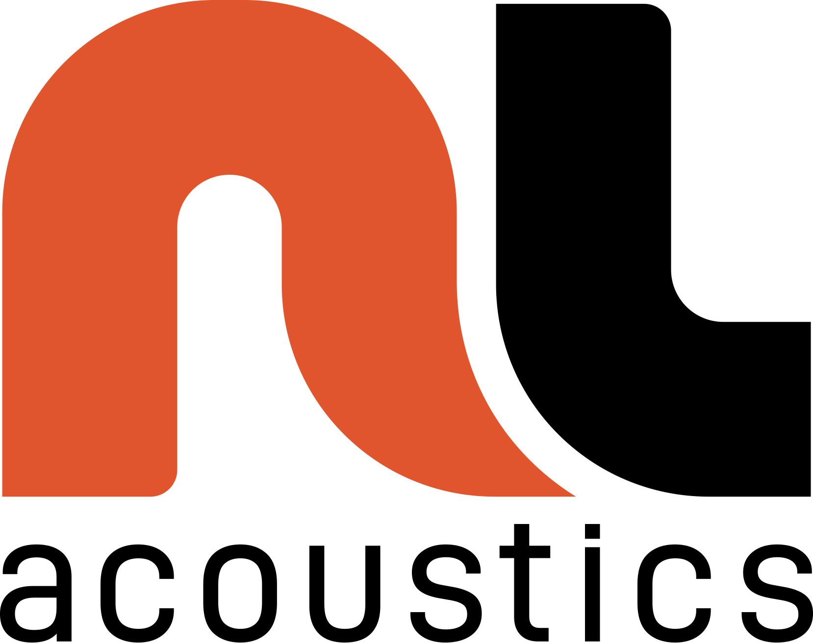 NL Acoustics Logo Black R